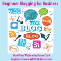 Beginner Blogging for Business - Recorded Training