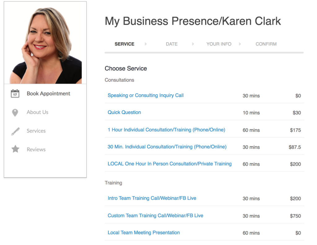 Karen Clark Consulting and Training Services