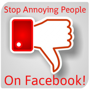 Stop Annoying People on Facebook