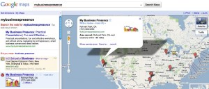 My Business Presence on the Google Places Map