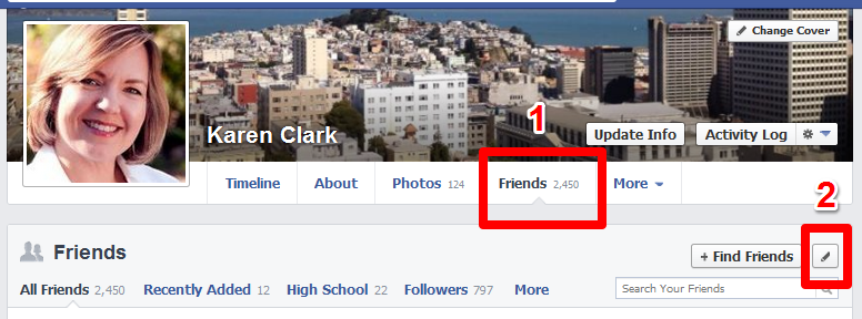 How to Hide Your List of Facebook Friends