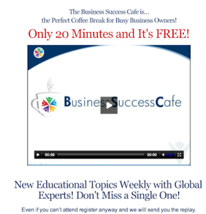Why You Need Social Media - Business Success Cafe 20 Minute Tip