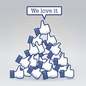 We love Facebook