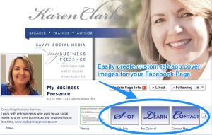 How to Easily Create Custom Facebook Page App Images