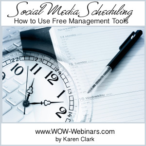 Social Media Scheduling – How to Use Free Management Tools