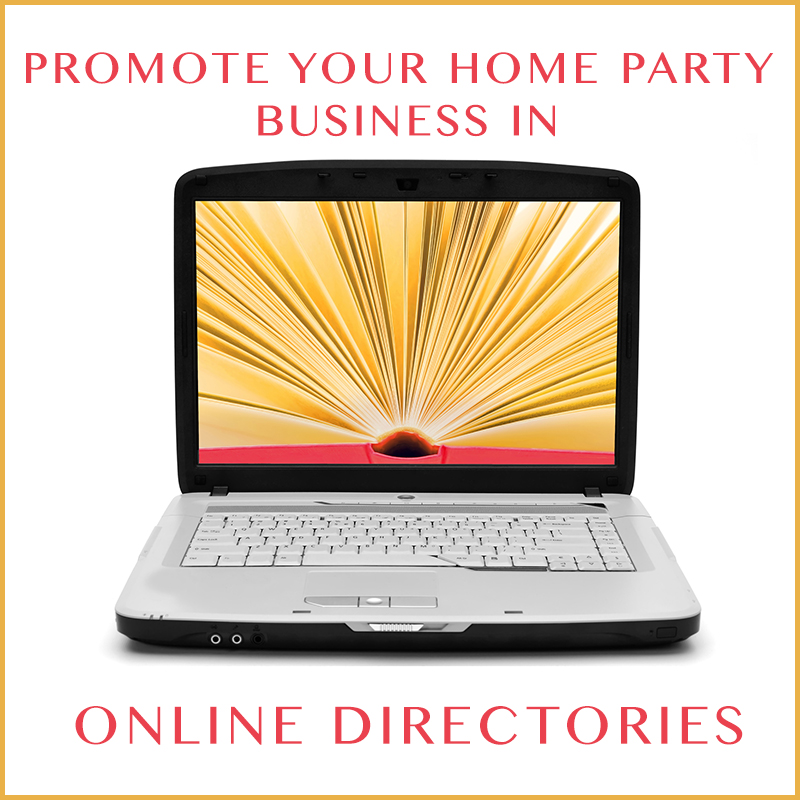 Promote Your Direct Ing Company In Online Party Plan Directories My Business Presence Karen Clark