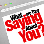 What Are They Saying About You in Social Media Image © depositphotos.com/iqoncept