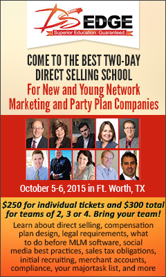Direct Selling Edge Startup Conference