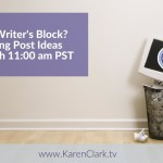 Social Media Post Ideas with Karen Clark