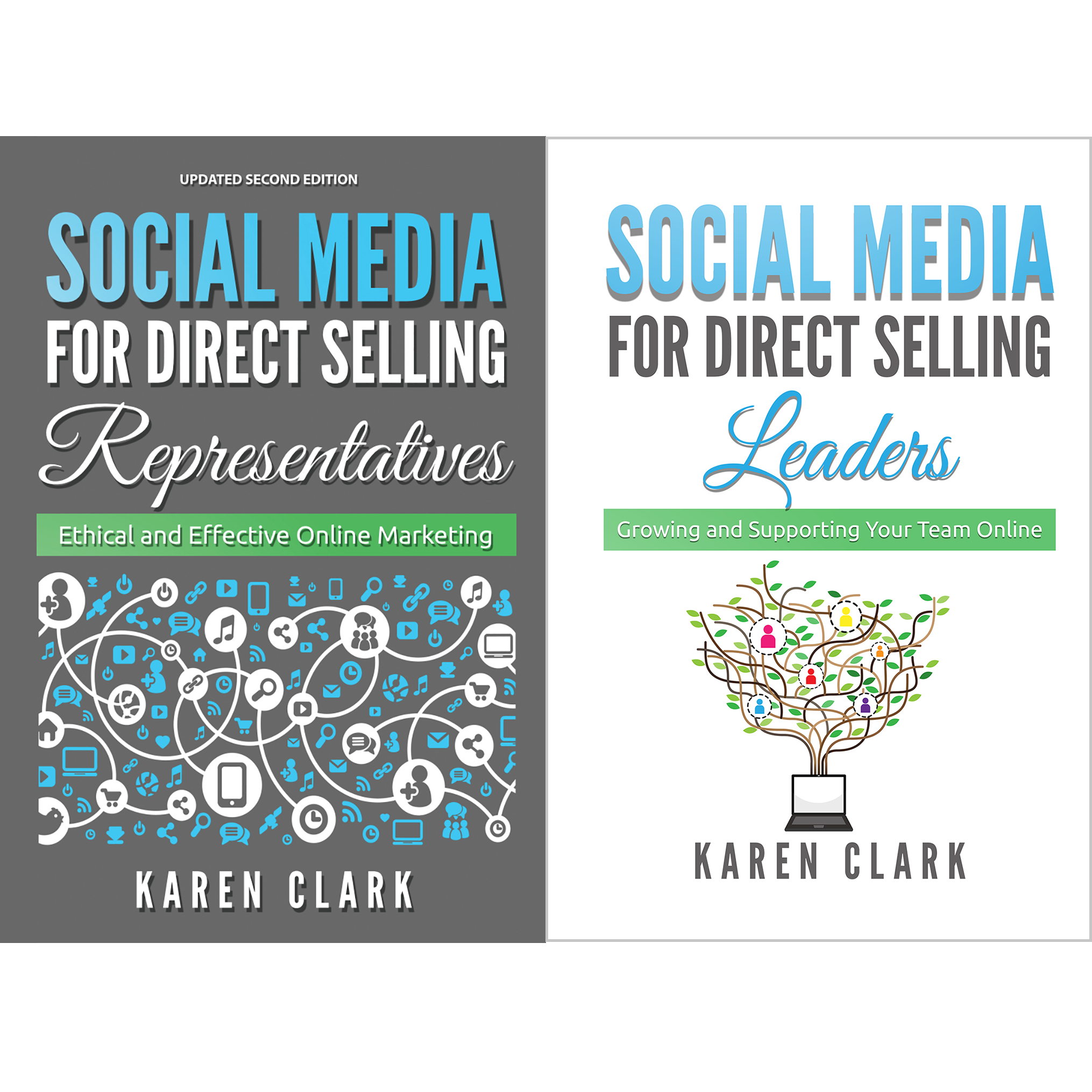 Social Media for Direct Selling Book Series by Karen Clark
